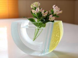 half(flower vase)